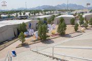 Tentenkamp in Arafat